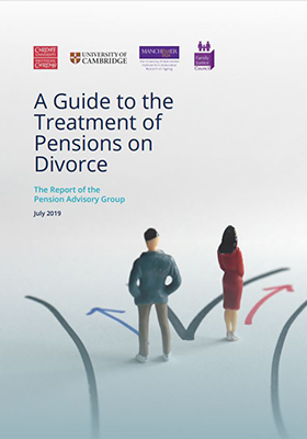 Pension Advisory Group guide to treatment of pensions on divorce