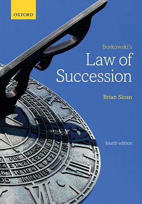 Borkowski's Law of Succession 4th edition